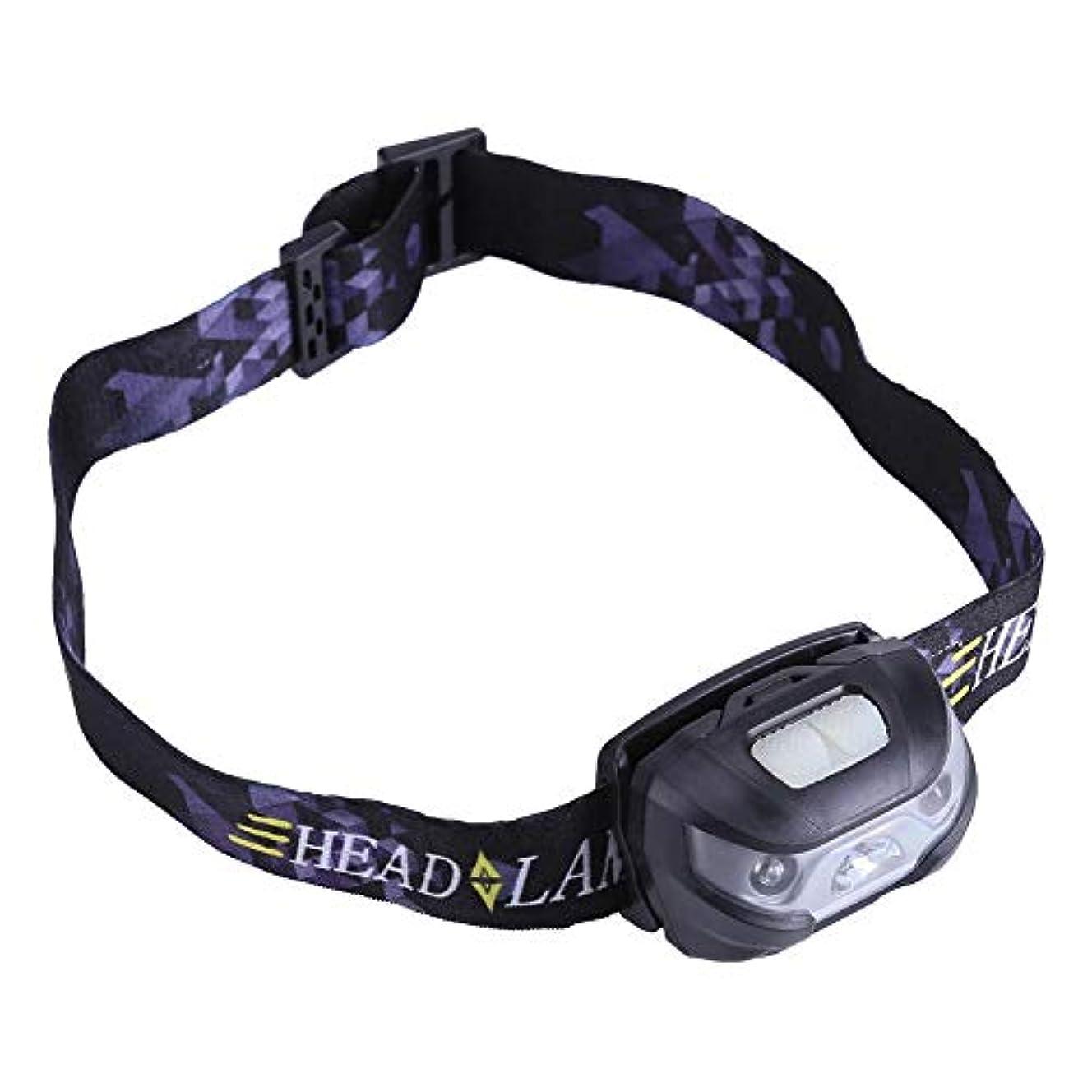 アイロニー汚れた見捨てるQiilu ヘッドライト LEDヘッドランプ USB充電式 160ルーメン センサー機能 IPX4防水 小型軽量 角度調整可 登山 キャンプ サイクリング ハイキング 防災 非常時用(グレー)