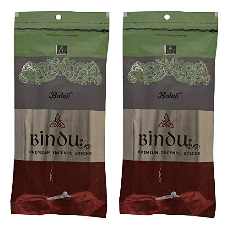ヨーロッパ肥料テロBalaji Bindu Bamboo Incense Sticks (8 cm, 120 g, Black, Pack of 2)
