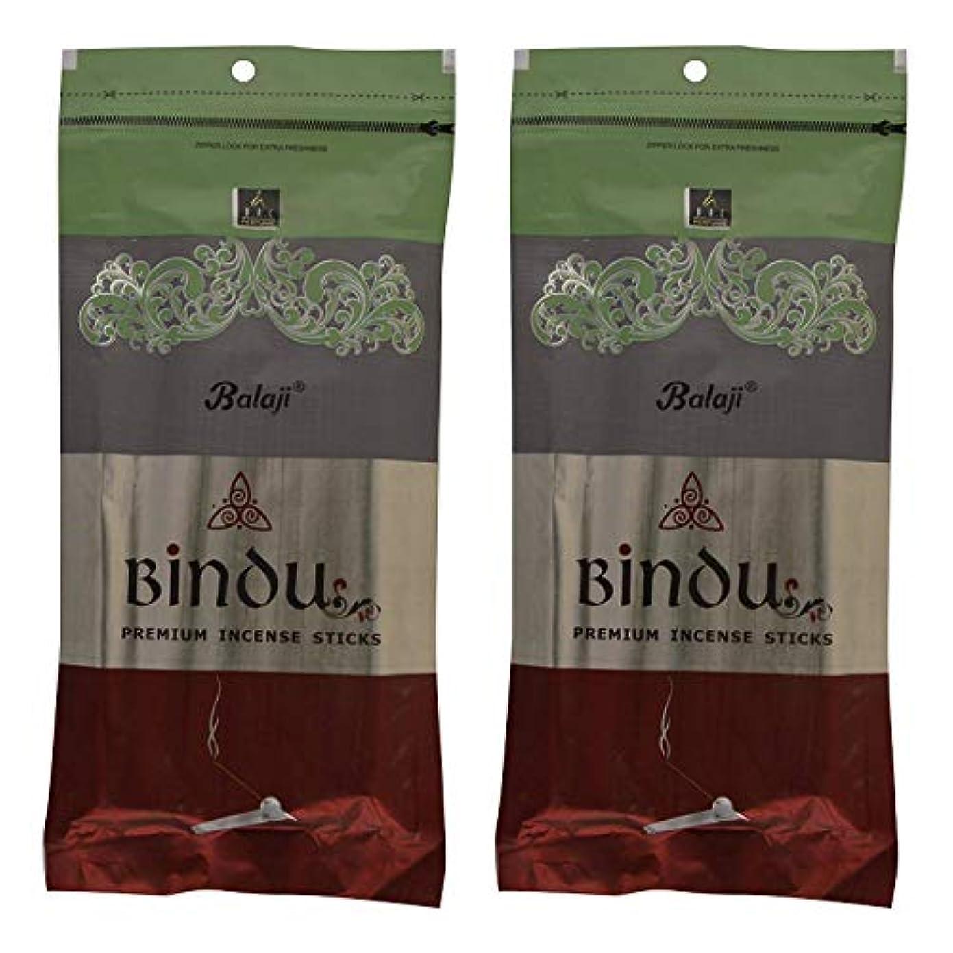 審判眉東Balaji Bindu Bamboo Incense Sticks (8 cm, 120 g, Black, Pack of 2)