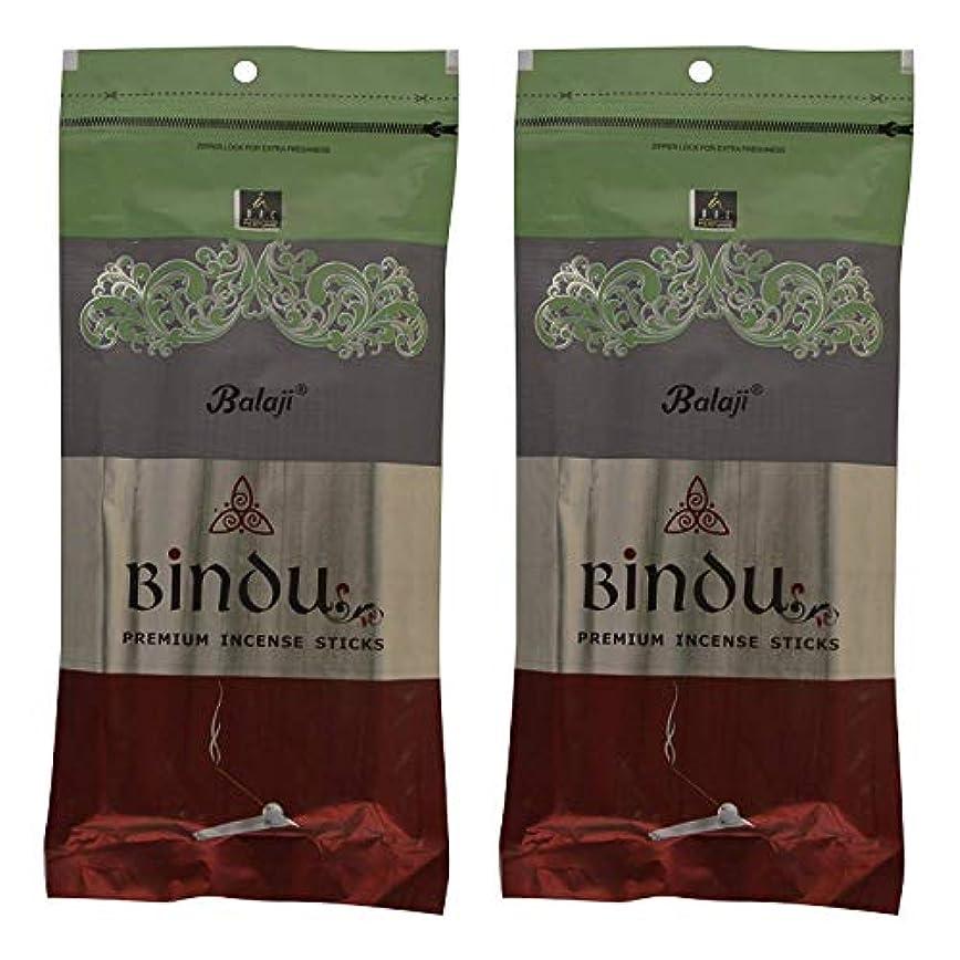 識別する生活読み書きのできないBalaji Bindu Bamboo Incense Sticks (8 cm, 120 g, Black, Pack of 2)