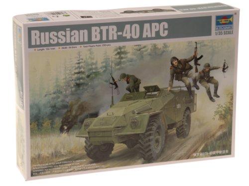 1/35 ソビエト軍 BTR-40 兵員輸送車