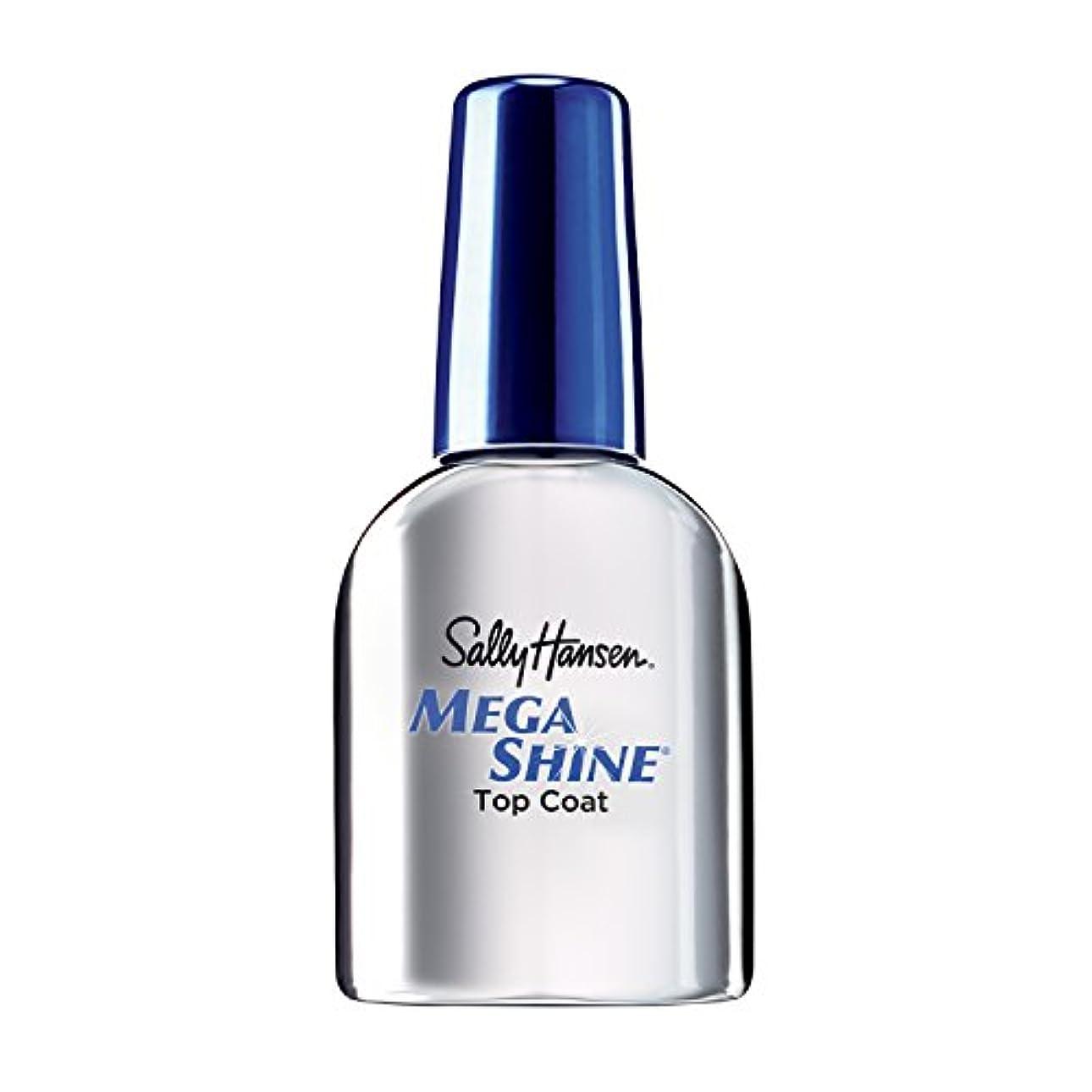 Sally Hansen Mega Shine Top Coat 12.5 ml (並行輸入品)