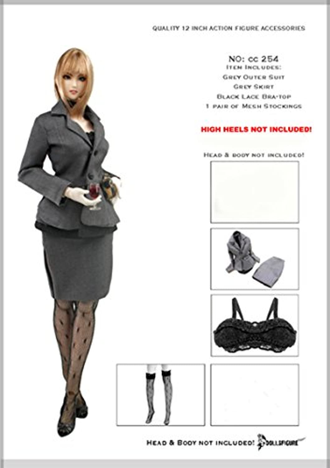 女性秘書 スーツセット Artcreator_BM CC254 1/6 Female Secretary Suit Set