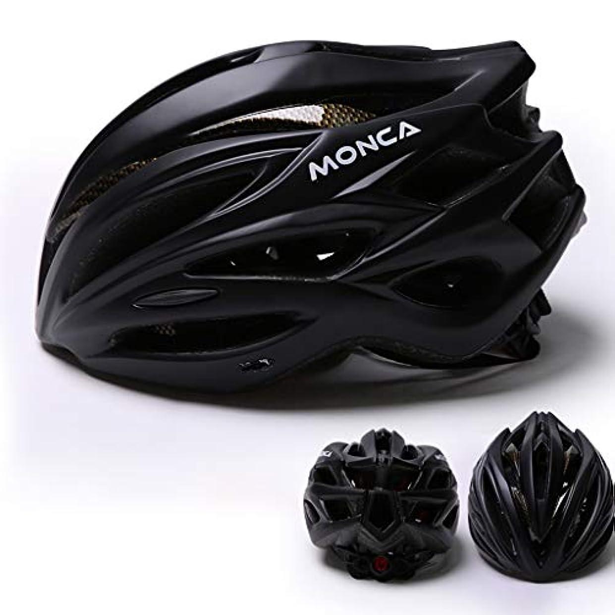 習慣負荷リブ取り外し可能なバイザー、調節可能な男性女性マウンテンロード自転車ヘルメット安全保護付き大人サイクリングバイクヘルメット