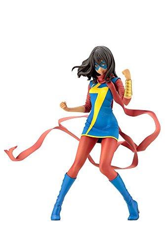 コトブキヤ MARVEL美少女 MARVEL UNIVERSE ミス・マーベル(カマラ・カーン) 1/7スケール PVC製 塗装済み完成品フィギュア