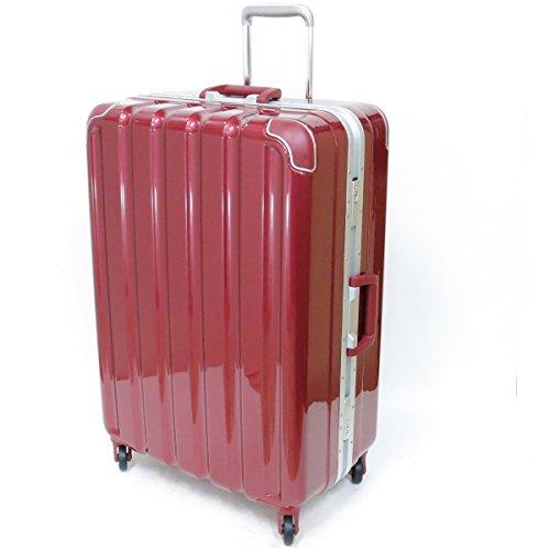 (シフレ グリーンワークス) siffler GREEN WORKS シフレ グリーンワークス GRE1043-66 スーツケース 日乃本キャスター 93リットル 4.9kg 3辺合計157cm (メタリックワイン)