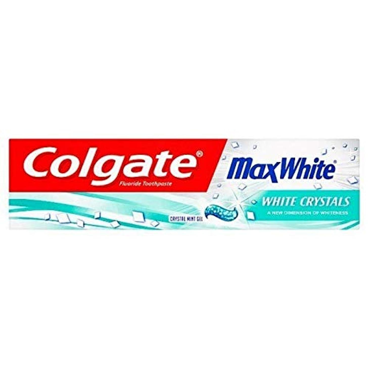 解釈非武装化レイアウト[Colgate ] コルゲートマックスホワイトクリスタルミント歯磨き粉75ミリリットル - Colgate Max White Crystal Mint Toothpaste 75ml [並行輸入品]