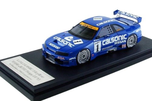 EBBRO 1/43 CALSONIC Skyline GT-R (#1) 1996 JGTC All Star / K.Hoshino/M.Kageyama