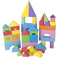 SONONIA 96個 EVA製 積み木 ビル ブロック 知育玩具 マルチカラー 子供 ギフト