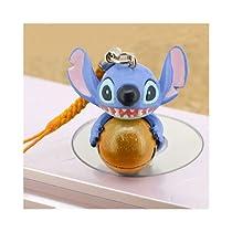 Disney ペン・キーチェーン・ストラップ スティッチはっぴいカラーBellイエロー BH-06107