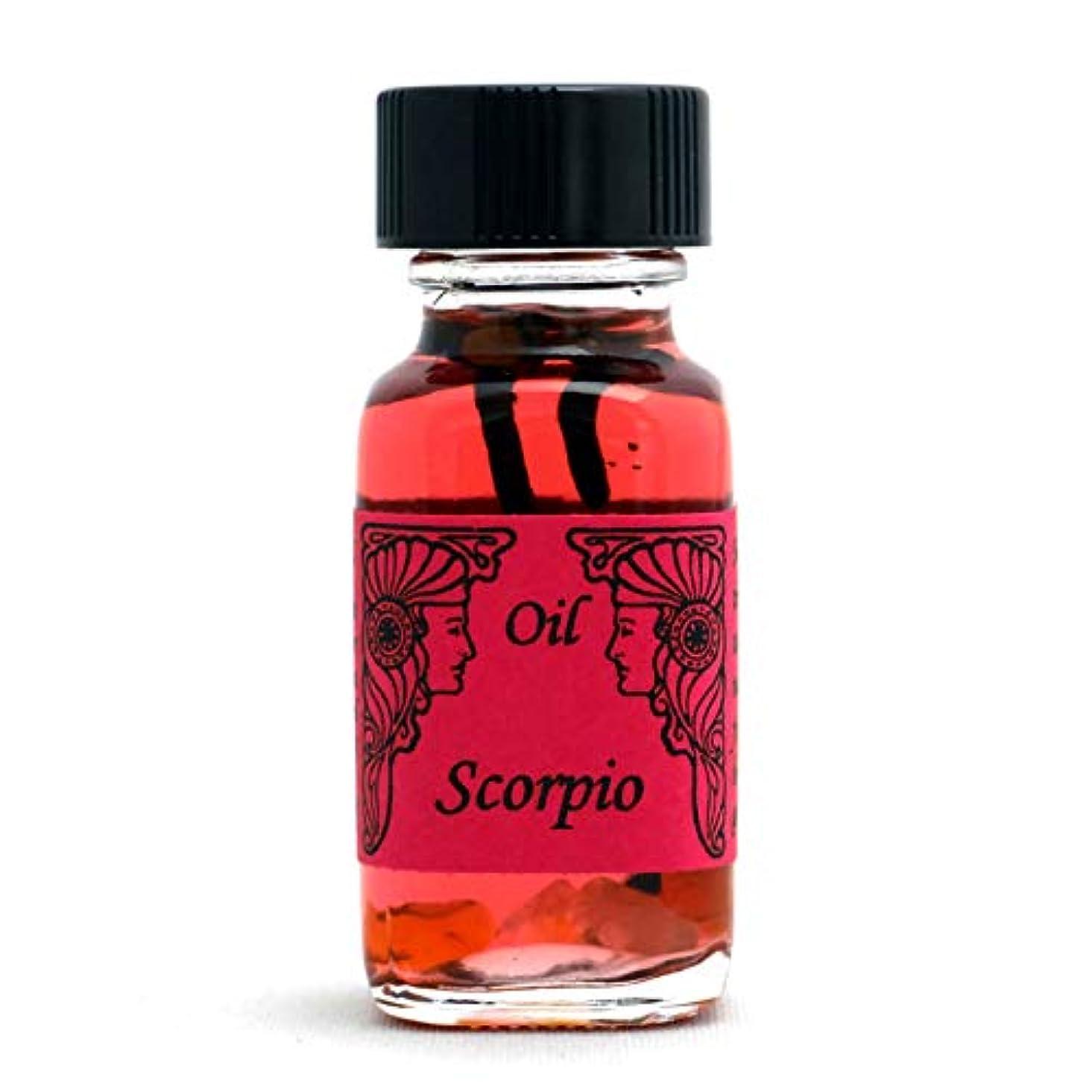 ピン古代おそらくアンシェントメモリーオイル 12星座オイル(占星術オイル)Scorpio 蠍座 10月23日~11月21日