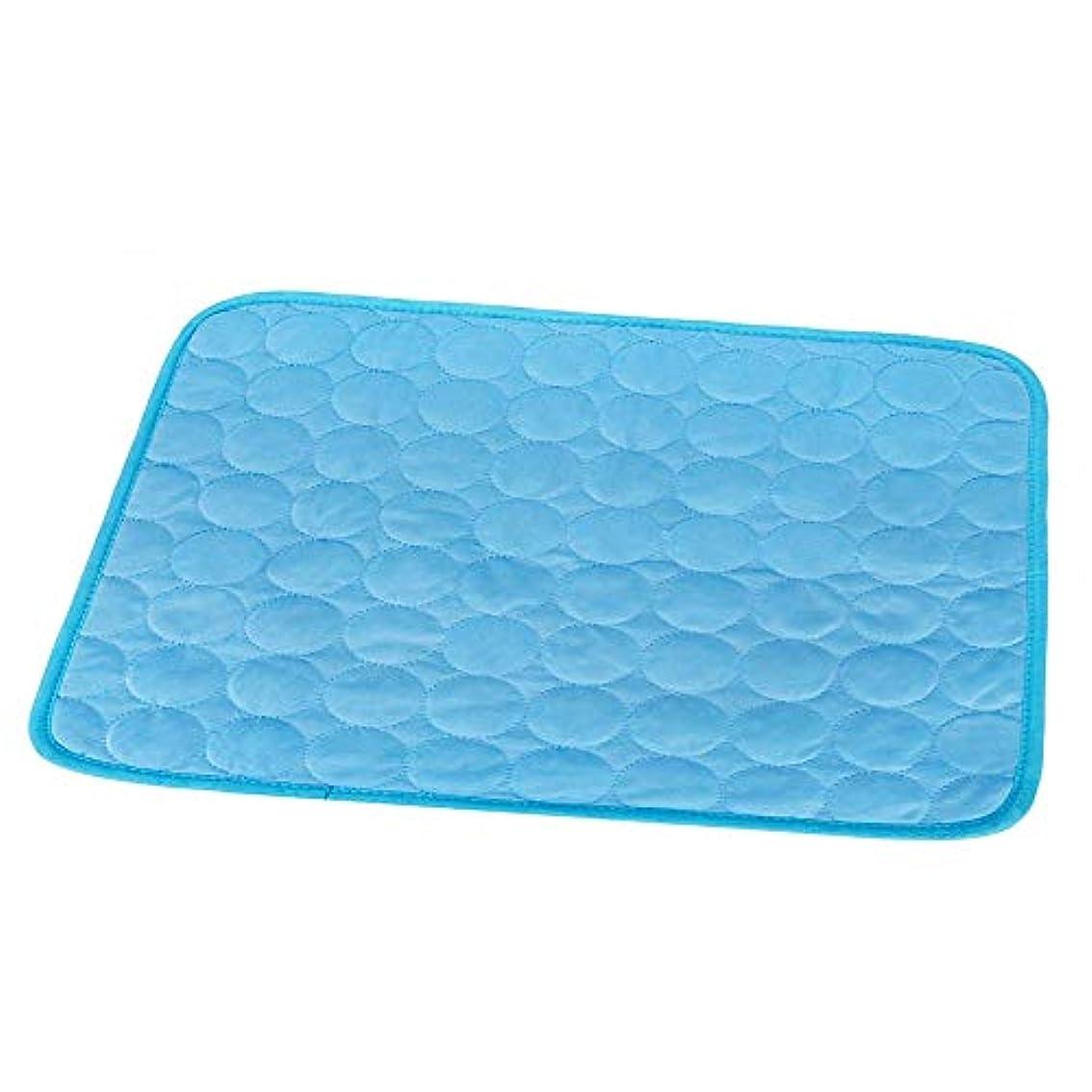 聞く包括的ビームクールマット ひんやりマット ひんやり枕 冷感敷きパッド タオル地 通気性が良い 接触冷感 涼感冷感クッション