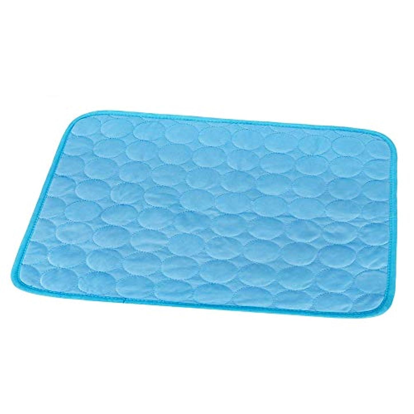 同一のハッピー不十分クールマット ひんやりマット ひんやり枕 冷感敷きパッド タオル地 通気性が良い 接触冷感 涼感冷感クッション