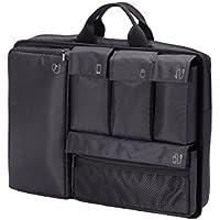 エレコム インナーバッグ 15.6インチ 分離型 取っ手付き ブラック 13.5インチ/14インチ/15インチ/15.4インチ/15.6インチ BM-IBSP15BK