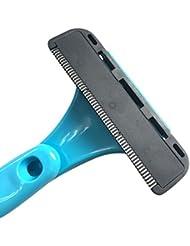 Liebeye 折りたたみ式 脱毛装置 絶妙な 手動剃刀 シェービング ヘッド 切削ヘッド