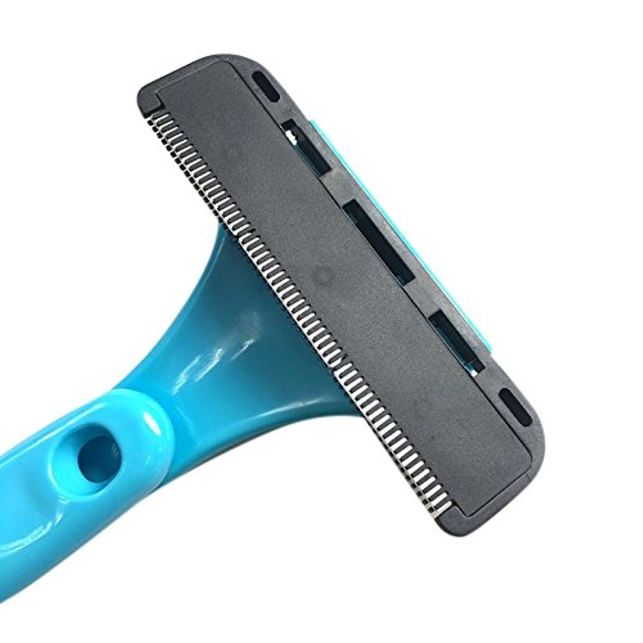 回答庭園絶望的なLiebeye 折りたたみ式 脱毛装置 絶妙な 手動剃刀 シェービング ヘッド 切削ヘッド