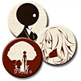 Deemo GOODS COLLECTION 布製缶バッジ3個セット