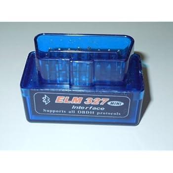 超小型モデル OBDII 診断 ELM327 Bluetooth ブルートゥース スキャンツール テスター OBD2
