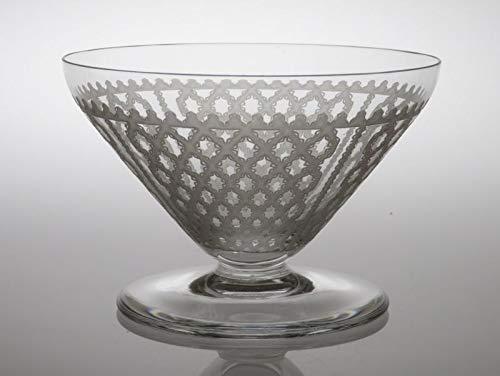 バカラ シャンパングラス ● アルハンブラ シャンパンクープ 6.5cm サンドブラスト リボン 格子 Alhambra