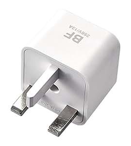 エレコム 海外用 電源変換プラグ BFタイプ 二重安全設計 T-HPABFWH