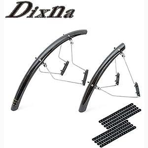 DIXNA(ディズナ) クラウドリフト 700c用 フェンダー カラー ブラック V23P030 ブラック
