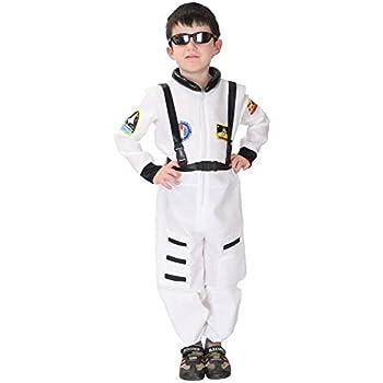 19f4684861e01 HIMOE ハロウィン パイロット 宇宙服 宇宙飛行士 コスプレ衣装・仮装 子供用 キッズ グッズ コスチューム 学園祭 文化祭  (Mサイズ:参考身長110-120cm