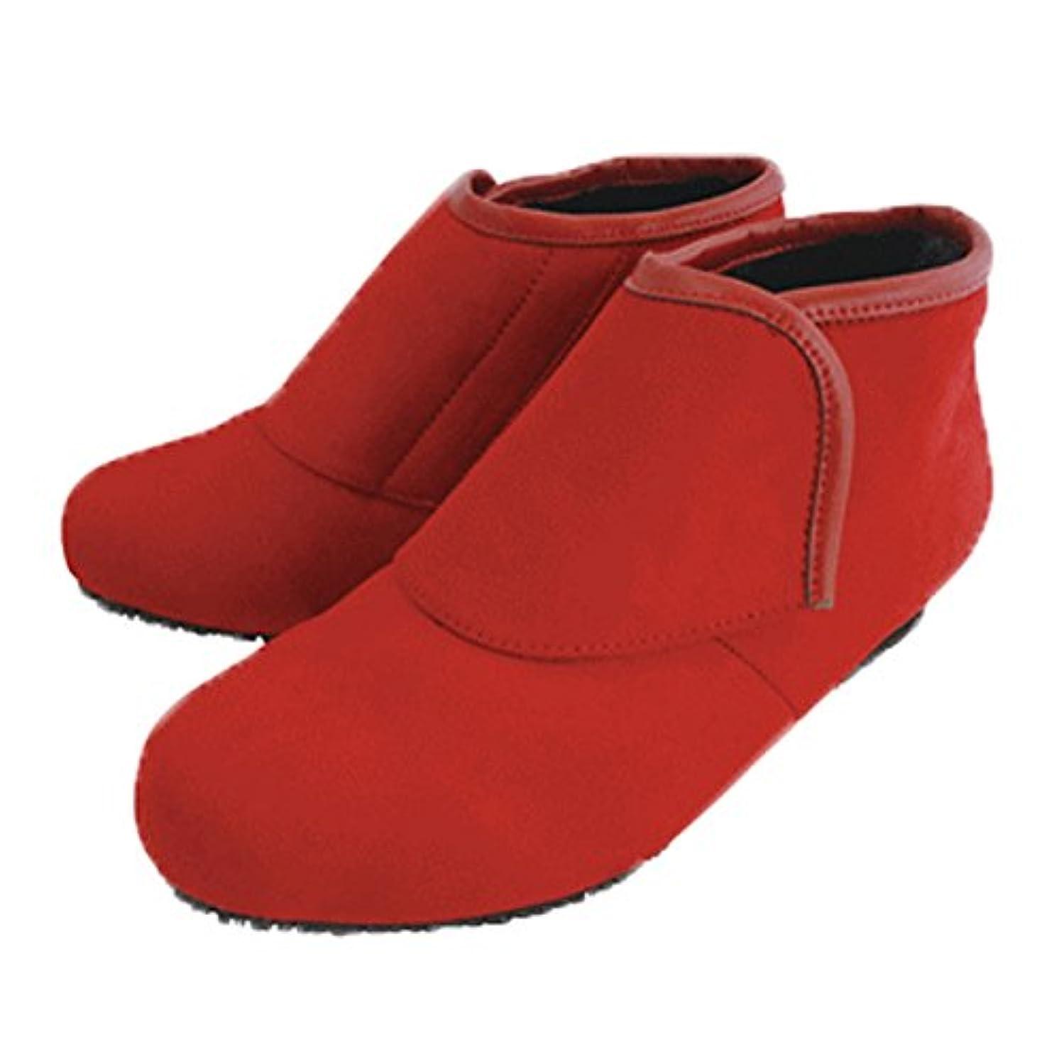 生命体極小言い換えると防寒ブーツ リシェス 防滑ソール レンガ 冬 女性用 婦人 高齢者 靴 ウォーキングシューズ 安心 補助 介護 敬老 贈り物/LL(24.5cm)