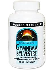 ギムネマシルベスタ(ギムネマ酸25%) 450mg 120粒[海外直送品]