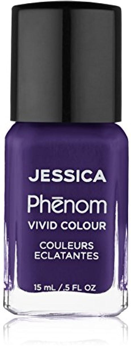 太字食物絶縁するJessica Phenom Nail Lacquer - Grape Gatsby - 15ml / 0.5oz