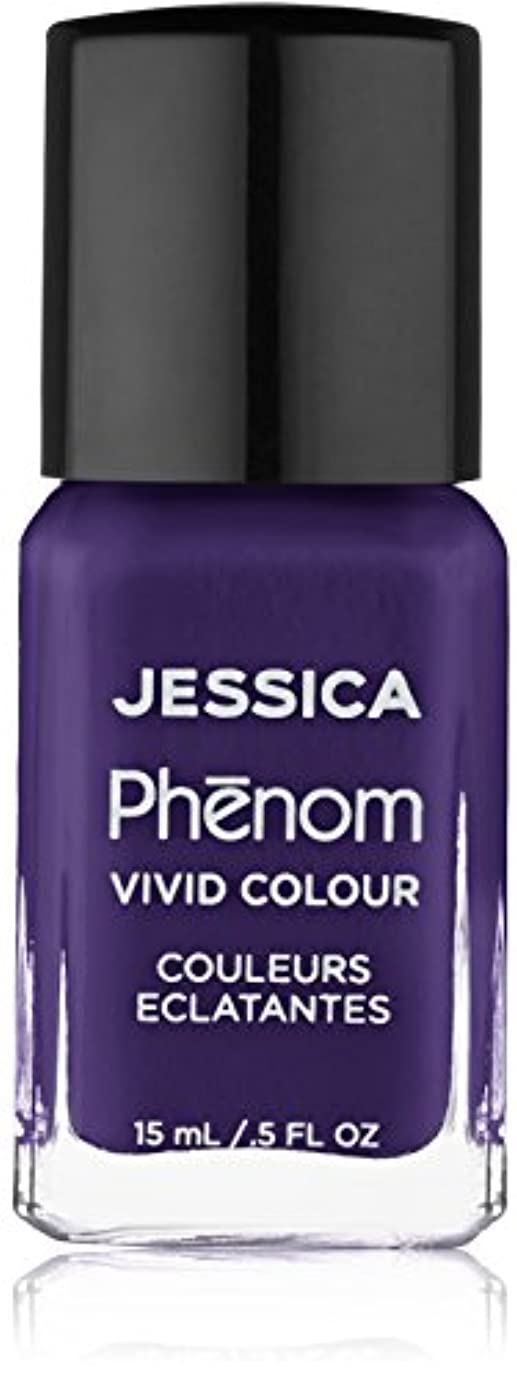 中級汚染含めるJessica Phenom Nail Lacquer - Grape Gatsby - 15ml / 0.5oz