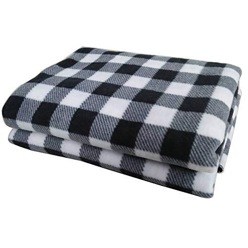 TINYPONY 電気毛布 車用 加熱毛布 ホットブランケッ...