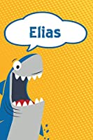 """Elias: Great White Shark Blank Comic Book Notebook Journal book 120 pages 6""""x9"""""""