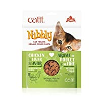 Catit Nibbly Cat Treat Chicken And Liver [並行輸入品]