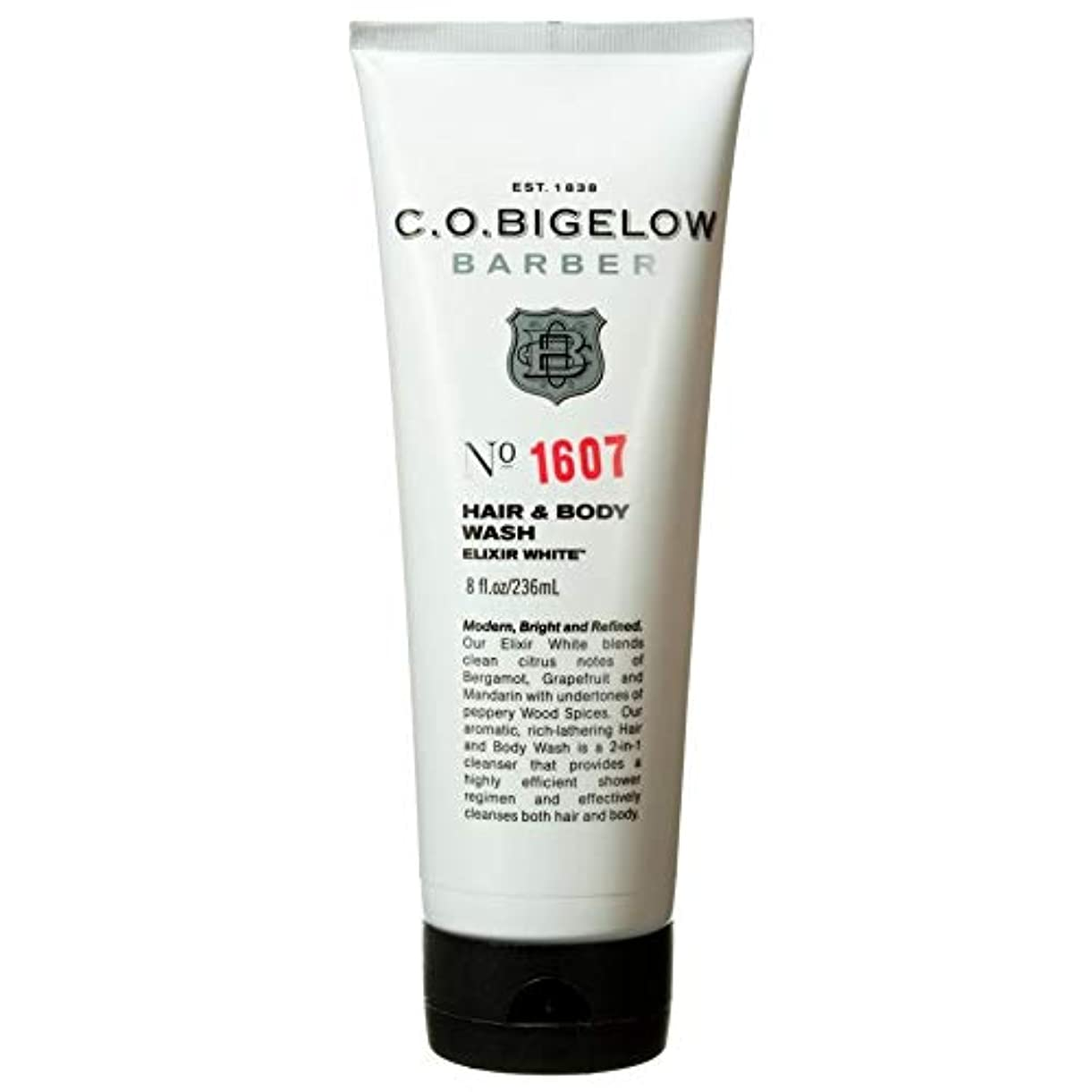 ポーチ略すリール[C.O. Bigelow] C.O.ビゲローエリクサー白い髪とボディウォッシュ - C.O. Bigelow Elixir White Hair And Body Wash [並行輸入品]