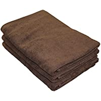 8年タオル バスタオル 65cm×135cm ショコラ 3枚セット