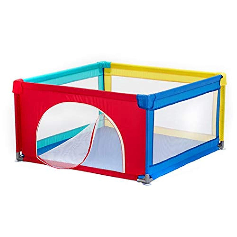 ベビーフェンス 4パネルPlaypenベビープレイフェンス子供の遊び場屋内ベビーベッドクロール保護フェンス (サイズ さいず : 90x120cm)
