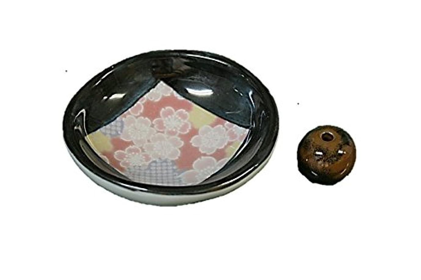 写真多用途姿を消す花縮緬 お香たて 製造直売品 お香立 日本製