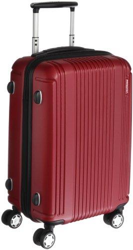 [バーマス]BERMAS スーツケース PRESTIGEII 49cm 34L 2.7kg ポーチ付 ファスナータイプ 機内持込サイズ HINOMOTOキャスター TSAロック 60262-44(ワイン)