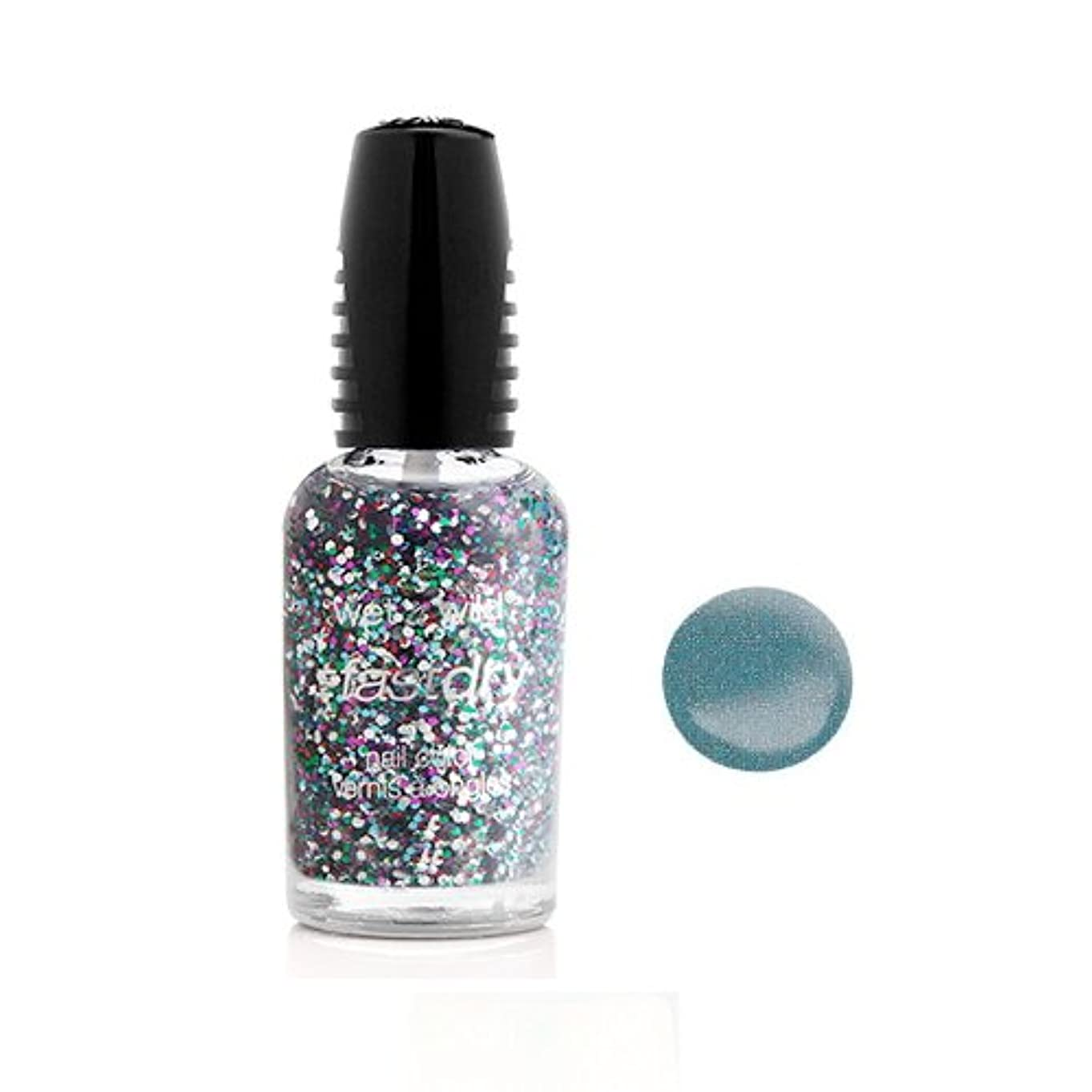 杭昼食上陸(6 Pack) WET N WILD Fastdry Nail Color - Blue Wants To Be A Millionaire (DC) (並行輸入品)
