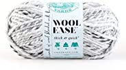 Lion Brand Yarn 640-505 Wool-Ease Thick and Quick Yarn, Marble