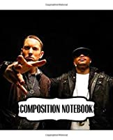 """Composition Notebook: Bad Meets Evil American Hip Hop Duo Royce Da 5'9"""" (Bad) And Eminem (Evil), Writing Workbook for Teens & Children, Man, Woman Paper 7.5 x 9.25 Inches 110 Pages, Ruled lined Paper for Taking Notes."""