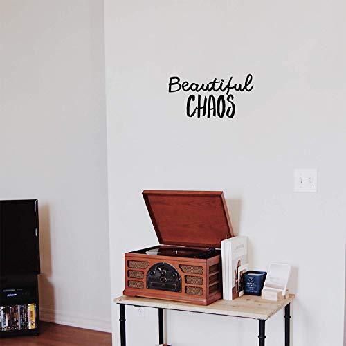 Vinyl Wall Art Decal - Beautiful Chaos - 11.5