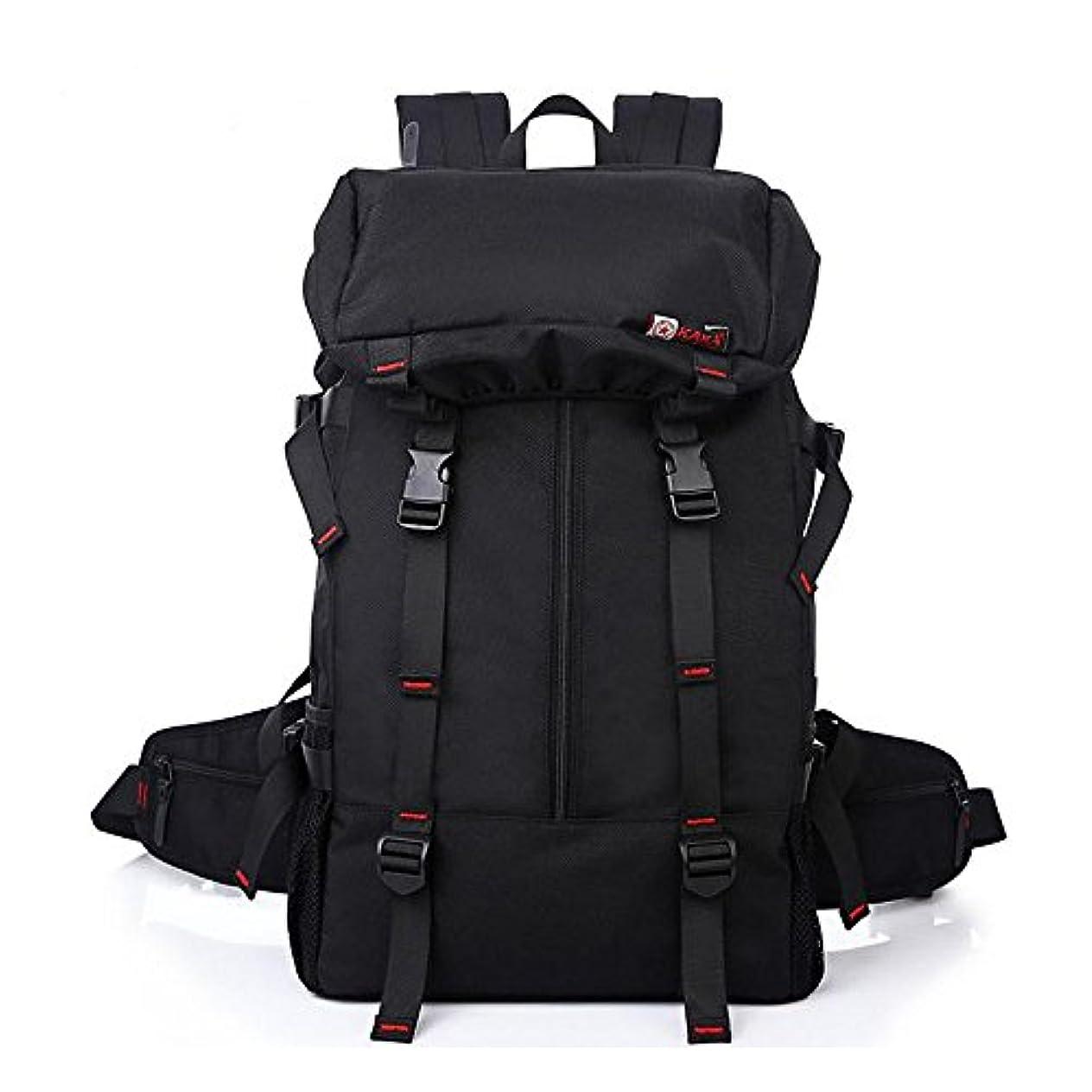 のスコアチャット香水アウトドア 多機能ハイキング オックスフォード ブラック 通気性 抜群 登山 旅行バッグ 2060ブラック