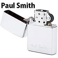 ポールスミス Paul Smith 正規品 Zippo ジッポ ジッポー ライター オイルライター メンズ ロゴ シルバー 553764-10