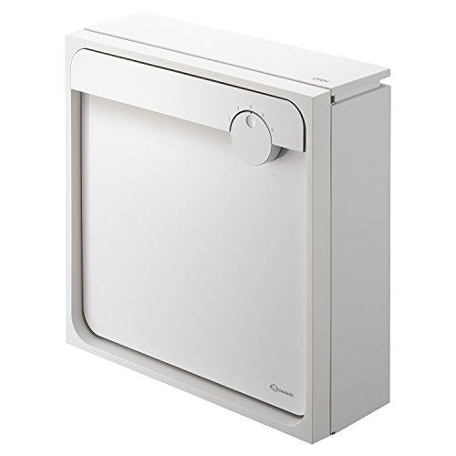 Qual 大型郵便物対応戸建郵便受箱(壁付タイプ) ホワイト×ホワイト 450mm×160mm×450mm