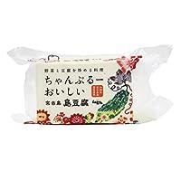 ちゃんぷるーおいしい島豆腐 (中) 400g×6個 宮古島しまとうふ 大豆本来の旨みをいかした深みのある味わい 沖縄の島豆腐特有の食感 雪塩入りでミネラルも豊富な伝統的なお豆腐
