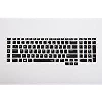 Leze - Ultra Thin Soft Keyboard Protector Skin Cover for Dell Alienware 18(2013 version) Alienware 17 R2 R3 R4(2015/2016 version) such as Alienware AW17R4AW17R3 Gaming Laptop - Black [並行輸入品]