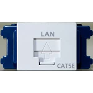 Panasonic ぐっとすシリーズ 情報モジュラジャック CAT5E 埋込 ホワイト NR3160W