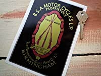 BSA Piled Arms Oblong Sticker ステッカー デカール シール 115mm x 165mm [並行輸入品]