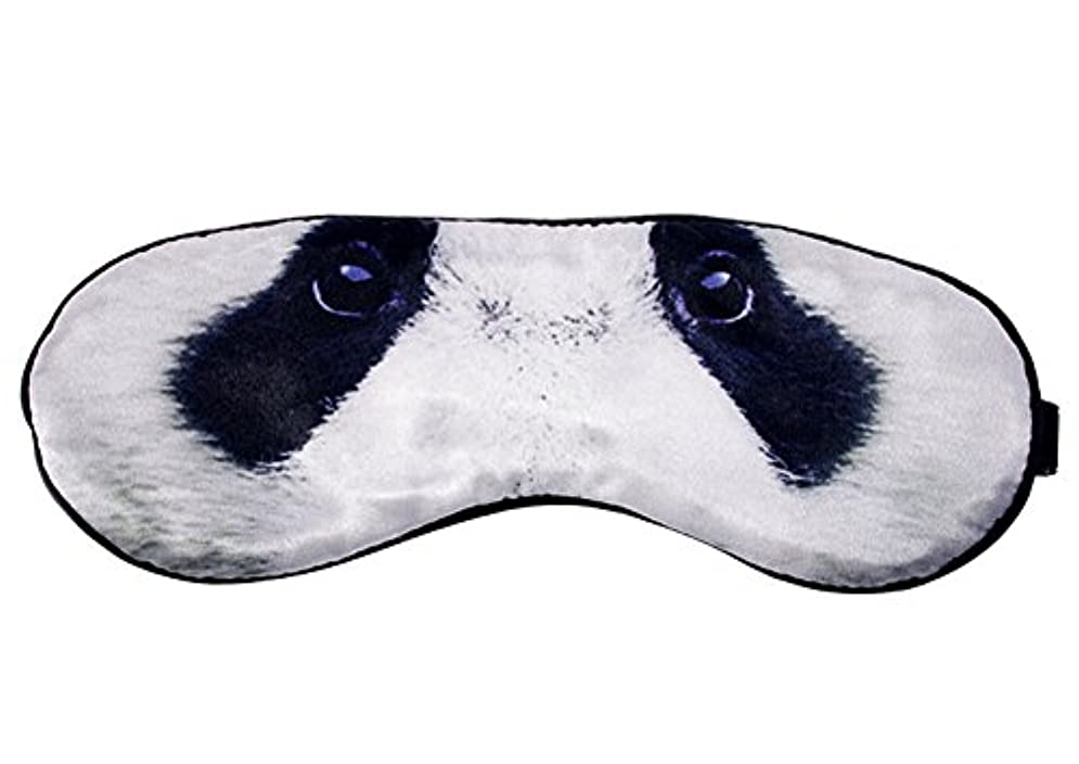 グッゲンハイム美術館オーディションカーフクリエイティブシルク漫画?アイスリープパンダのアイシェードの目隠しシェードカバーマスク
